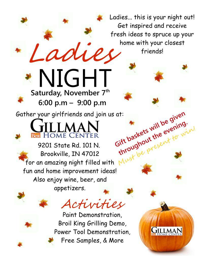 BR Ladies Night 2015