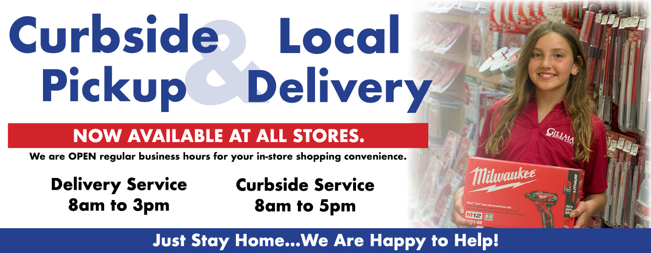 curbside pickup and local delivery