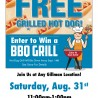 FREE GRILLED HOT DOG DAY